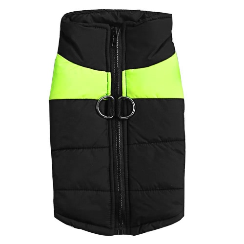 Warm Pet Puppy Winter Clothes Cold Weather Dog Vest Jacket Coat Zipper Cotton Colthing