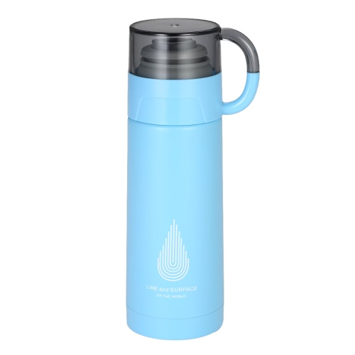 350ml Solid Vacuum Water Cup Stainless Steel Vacuum Insulated Water Bottle High Quality Warm Keeping Water Bottle Heat & Cold Preservation Bottle Travel & To-Go Water Bottle