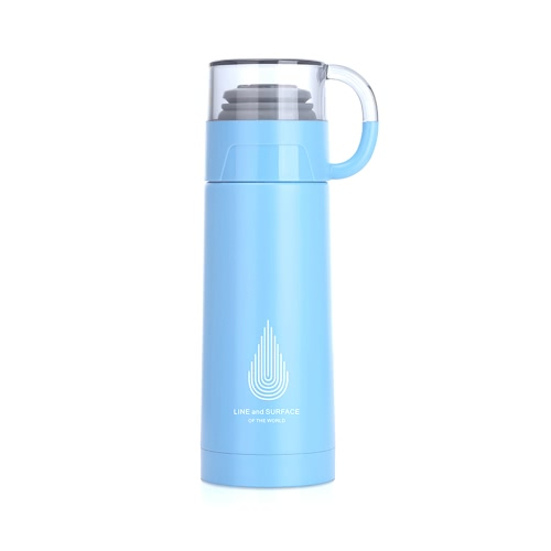 350ml Solid Vacuum Water Cup Stainless Steel Vacuum Insulated Water Bottle High Quality Warm Keeping Water Bottle Heat & Cold Pres