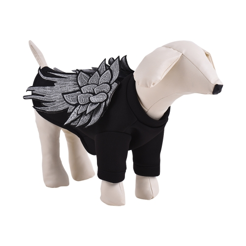 Premium Oddychająca Pet Dog Odzież Bluza z Kapturem Swetry Wings Decorate Cute Puppy Kostium Dostaw Przyjęte dla Miękkiej Przestrzeni Bawełny