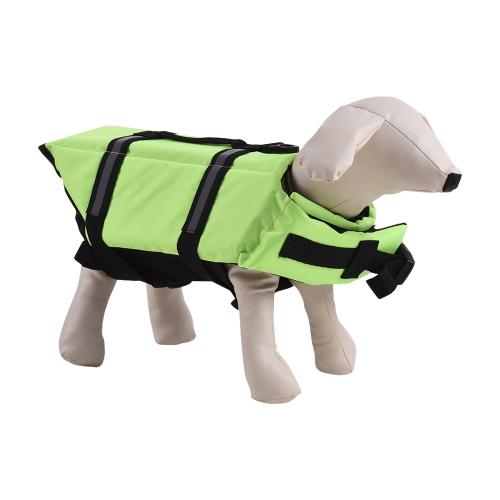 Домашние животные Собака жизни Куртка Плавучий защитный плавающий жилет Наружная вода Плавание Безопасности Спайдер Регулируемая Отражающая Прокладка Одежда