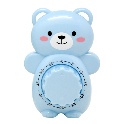 Cartoon Teddy Bear Timer Creative Life Lovely Kitchen Cooking Student Homework Plastic Timer