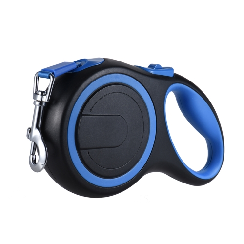 Retractable Dog Leash with 16ft Nylon Ribbon for Small/Medium/Large Dogs up to 110lbs