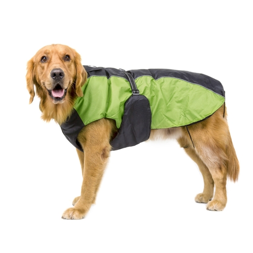 Pet Large Dogs Winter Jacket Ski Clothing Vest Clothes Coat Adjustable Waterproof Wind Resistant Keep Warm Reflective Outdoor Sport Apparel Costume