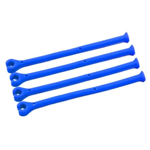 Accessoires flexibles 4PCS de lave-vaisselle de support de silicone d'outil de nettoyage de vin rouge pour le lavage de verrerie