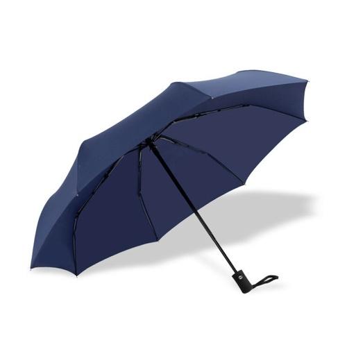 Feine Qualität automatische dreifach gefaltete Regenschirm Männer und Frauen Geschenk Business Taschenschirm