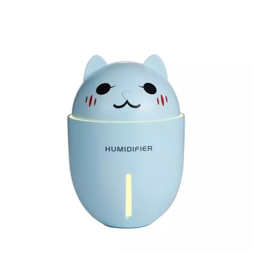 3 in 1 Multifunktionale tragbare Mini-Luftbefeuchter Cute Cat Shape