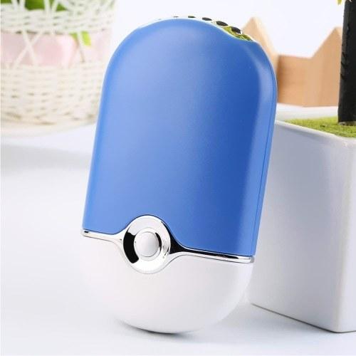Портативный мини-портативный кондиционер Увлажнение Охлаждающий вентилятор USB-охладитель розовый