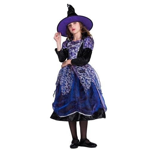 Déguisement de sorcière Halloween pour filles