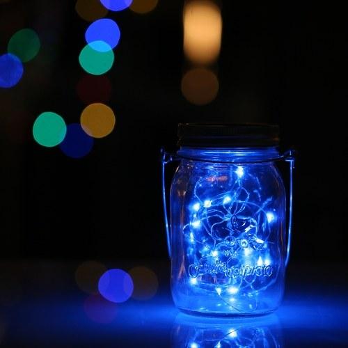 LED Mason Jar Fairy Light Вставить садовые декоративные светильники