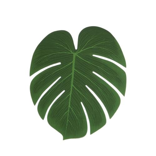 5Pcs Simulation Plant Silk Cloth Fake Palm Leaves Flower Arrangement Ornament