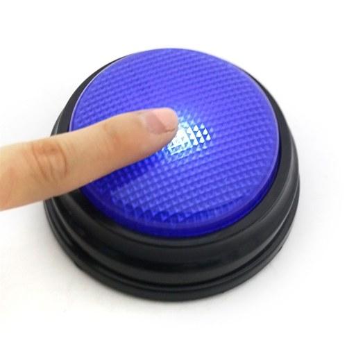 20s Голосовая запись Говорящая кнопка Звуковая кнопка Ответ Звонок с Led