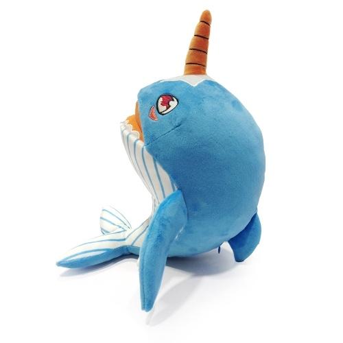 Мягкая плюшевая игрушка-акула Нарвалс