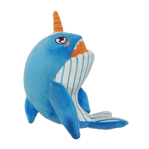 Narwhals Stuffed Baby Plush Shark Toy With Cute Music Sales Online