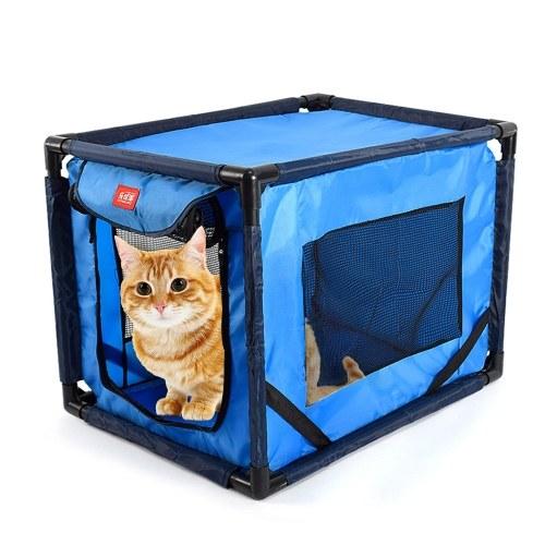 Pet Dog Cat Carrier Pet Dog Cave Bed Pet Travel Carrier Crate