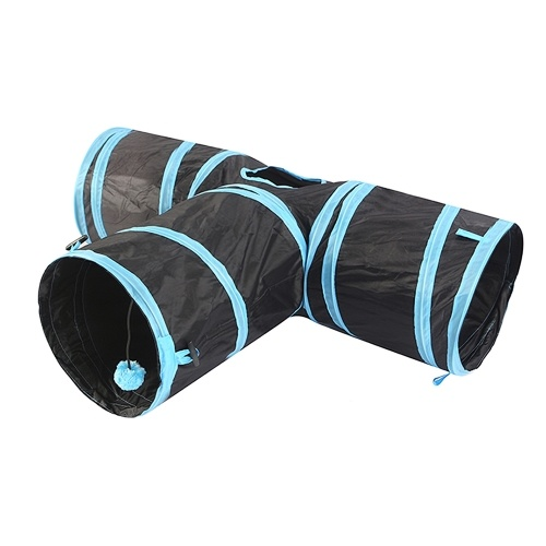 Cat Tunnel 3 Way Pet Play Tunnel