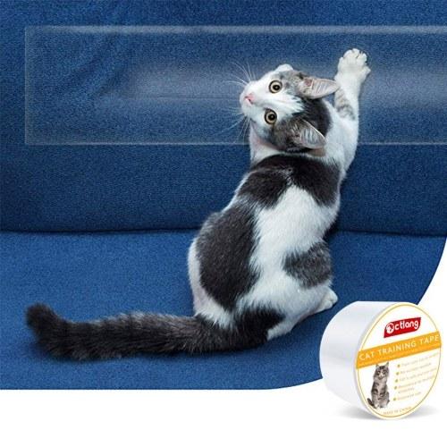 Nastro antigraffio per gatti Nastro antigraffio per gatti Nastro adesivo trasparente per gatti a doppia faccia