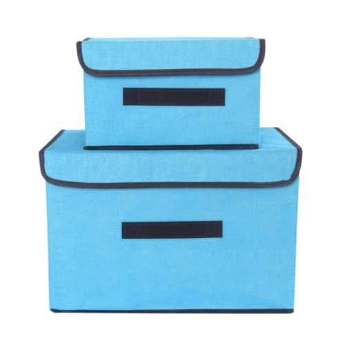 Collapsible Non-Woven Storage Bins Baskets Boxes
