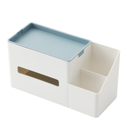 Desktop Storage Box Home Use Tissue Organizer