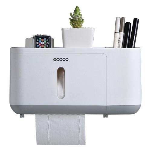 Диспенсер для бумажных полотенец Ecoco Настенный держатель для бумажных полотенец фото