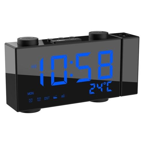 Reloj despertador con radio digital de
