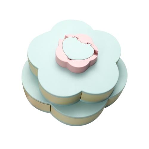 Doppelschicht Snack Box Candy Platten