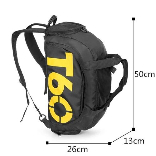 Multi-functional Large Sports Gym Shoulder Bag Duffle Travel Luggage Knapsack