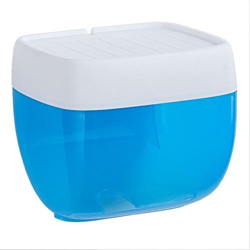 Caja de toallas de papel flotante sin perforaciones flotante montada en la pared Caja de pañuelos Cubierta de pañuelos Servilleta Artículos para el hogar Papel higiénico Soporte de rollo para baño