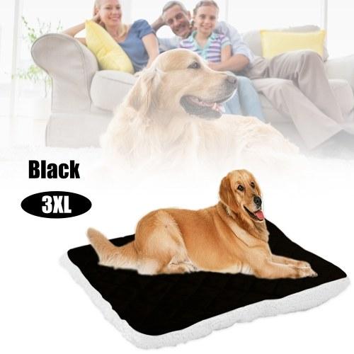 Felpa Alfombrilla para mascotas Suave Cómoda Cálida Cama para perros Perrera Cojín Perrito Manta Artículos para mascotas