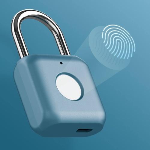 Xiaomi Youdian Kitty SmartLock Fingerprint Door Lock Padlock USB Charging Keyless Anti Theft Travel Luggage Drawer Safety Lock