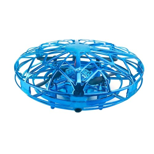 Jouet d'hélicoptère volant ZYS UFO pivotant à 360 ° avec un design lumineux attrayant