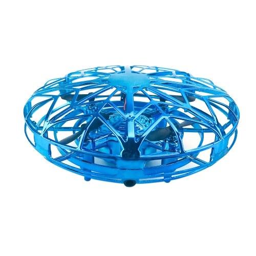 ZYS UFO 360 ° Rotatable Air Vehicle Flying Helicopter Toy com Design de luz atraente