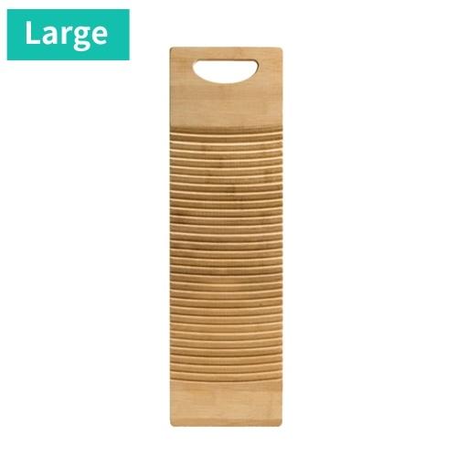 Tablero de lavado de madera disponible Tablero de lavado con mango rectangular Tablero de lavado de percusión manual para ropa de lavandería en el hogar Tablero de lavado grueso de bambú duradero práctico