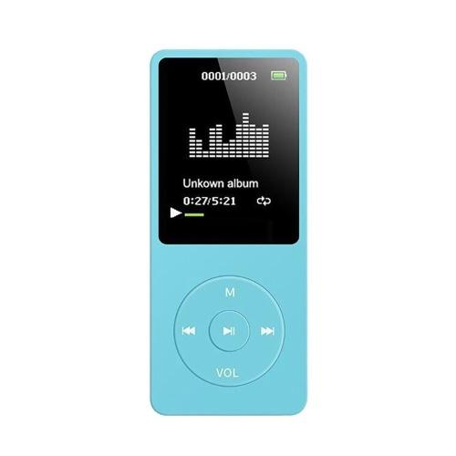 MP3 / MP4-плеер 64 ГБ Музыкальный плеер 1,8-дюймовый экран Портативный MP3-плеер с FM-радио Диктофон фото