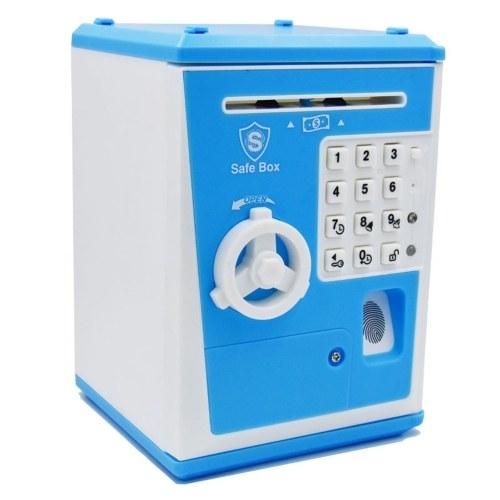 Caixa de poupança de dinheiro multifuncional eletrônica