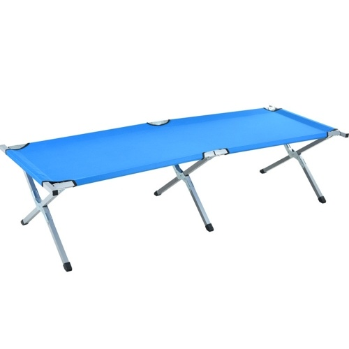 Outdoor and Indoor Portable Folding Bed Multifunctional Folding Camp Bed Folding Camping Cot with Carrying Bag