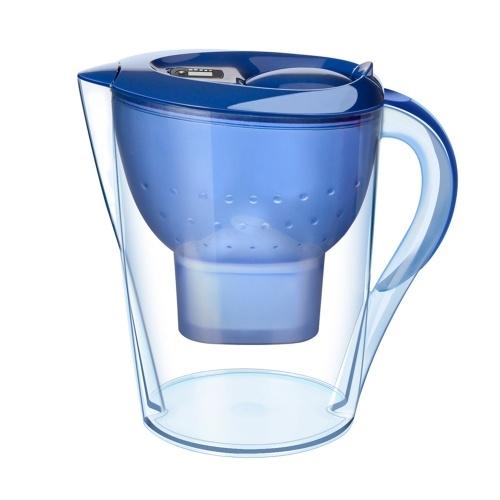 3.5L透明な水フィルター水差しの世帯水フィルター