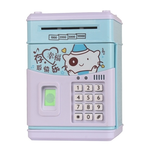 Electronic Multifunctional Money Saving Box Money Bank Singing Saving Box фото