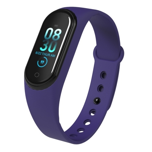 Smart Watch Monitoring Blood Pressure SPO2 Intelligent Touching 0.96Inch Screen Fitness Tracker Bracelet, TOMTOP  - buy with discount