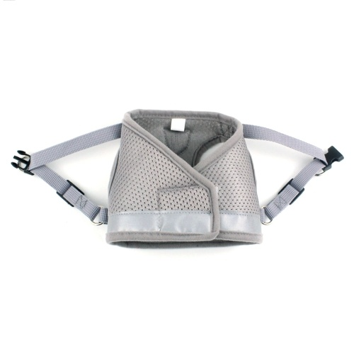 Dog Harness No-Pull Pet Harness Step-in Air Dog Harness, Soft Mesh Cat Harness, Step in Vest Harness Adjustable Outdoor Pet Vest, Reflective Harness for Pet Kitten Puppy Rabbit, (Blue,L)