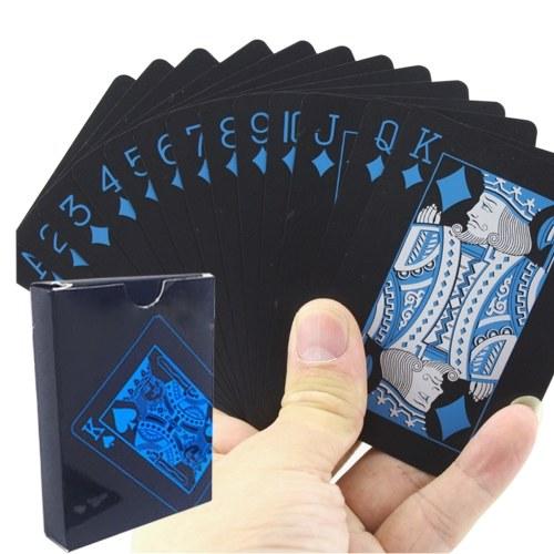 Set di carte da poker Carte da gioco in plastica impermeabili