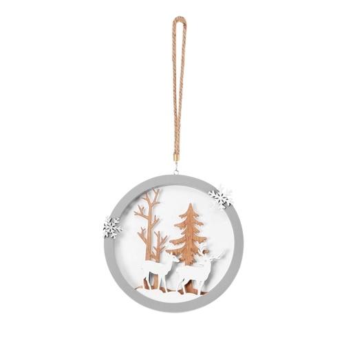 Weihnachtsbaum hängende Dekoration