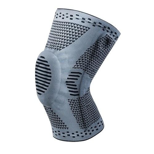 2PCS Genou Compression Sleeve Support Protecteur Respirant Antidérapant Genouillère avec Patella Gel Pads Stabilisateurs latéraux pour Running Volleyball Basketball Haltérophilie Entraînement sportif