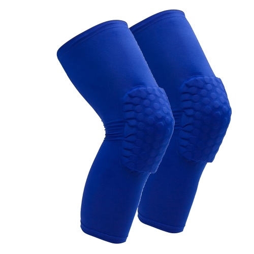 2PCS Knee Brace for Men & Women Protective Knee Compression Sleeve Support with Anti-Slip Silicone for Running Volleyball Basketball Weightlifting Sports Workout