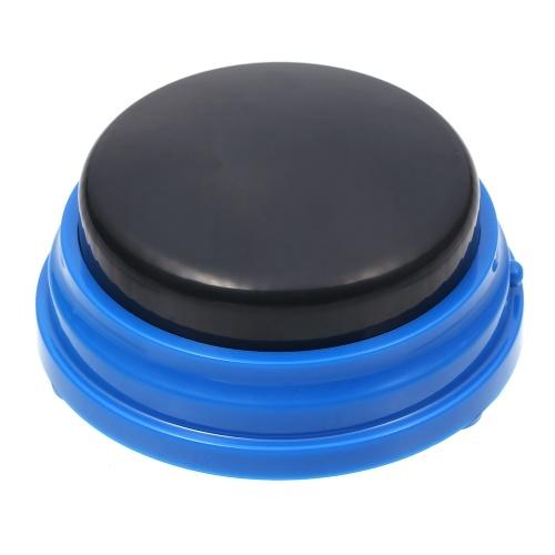 Botón que habla grabable Botón de sonido de grabación de voz para niños Botones interactivos de respuesta de juguete