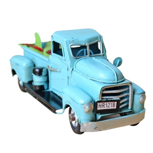 Vintage Metal Classic rustikaler Pickup (blau)