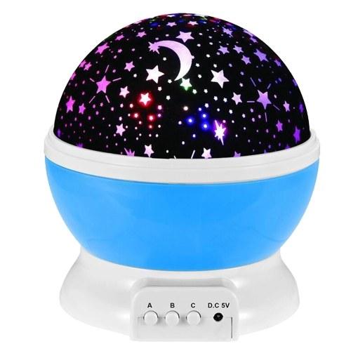Proyector de luz nocturna estrella