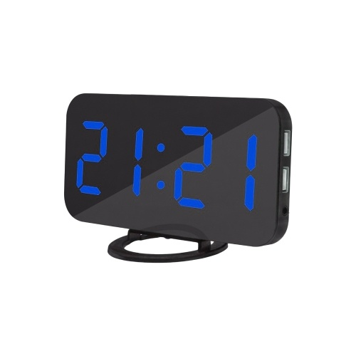 Digital Alarm Clock LED Display