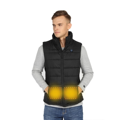 Men Women Heated Vest Winter Warm Heated Vest