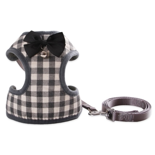 Hundegeschirr mit Bowtie Step-in Vest Harness Leash Set